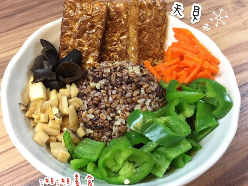 乾燒天貝飯/素食