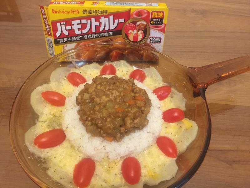 花開富貴黃金咖喱