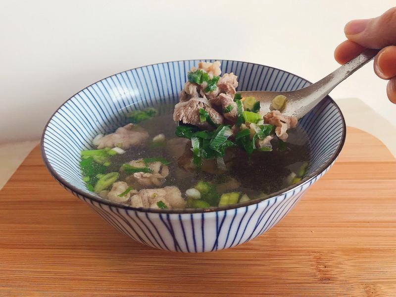 [三分鐘]台南牛肉湯