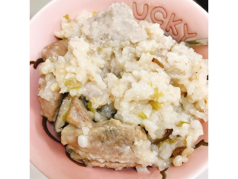 芋頭排骨粥