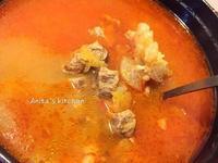清爽的番茄牛肉湯