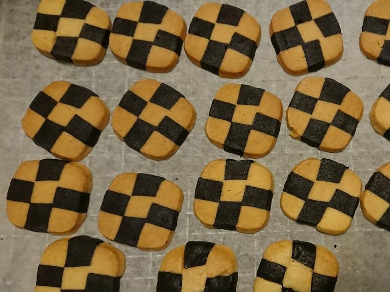 棋盤格餅乾