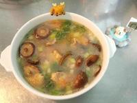 蔥花香菇雞湯