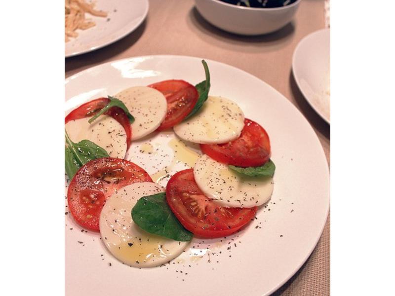 義式卡布里沙拉Caprese salad