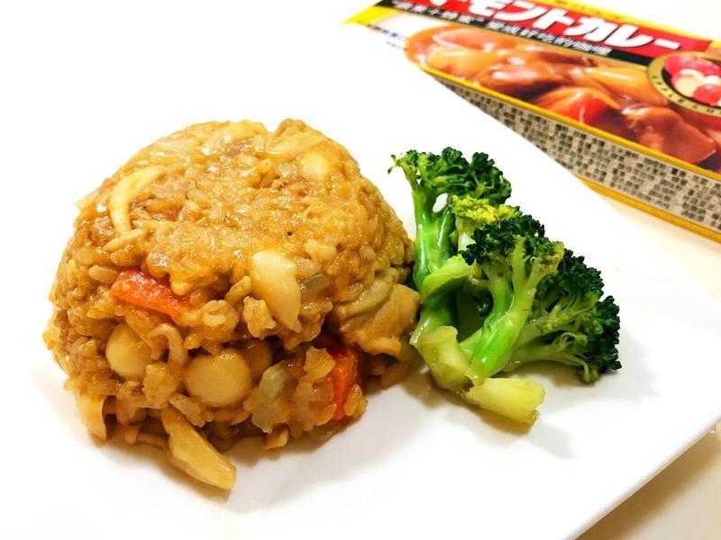 鮮奶咖哩燉飯(超簡易電鍋料理)