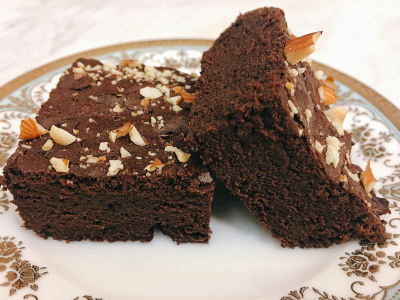 苦甜Fudgy Brownies布朗尼