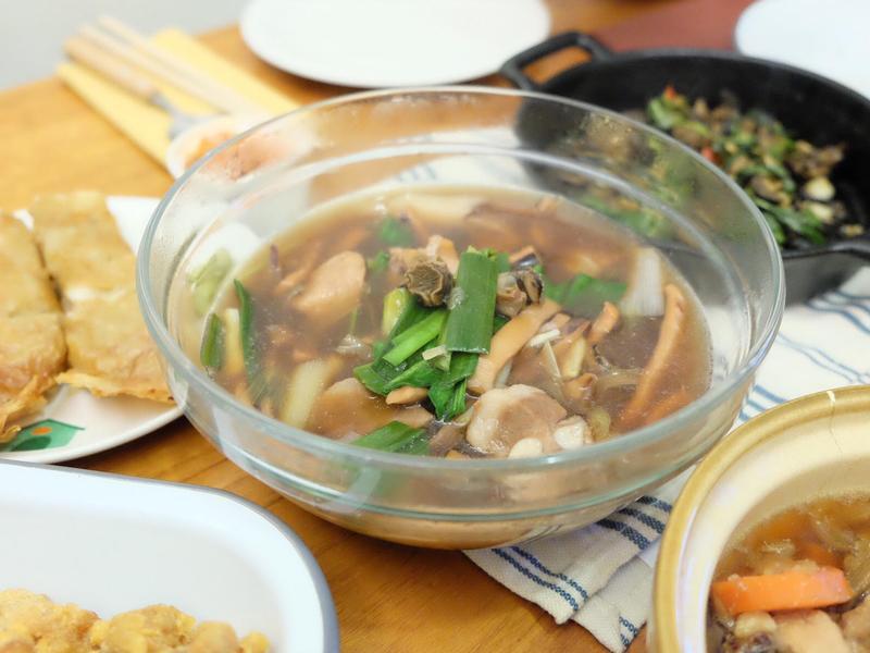 年菜預備備 - 魷魚螺肉蒜