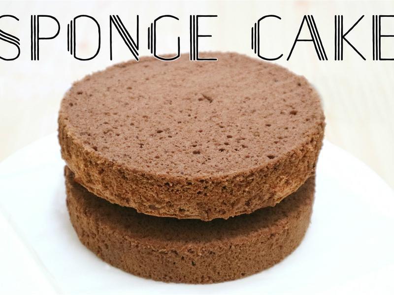 【超鬆軟】巧克力海棉蛋糕