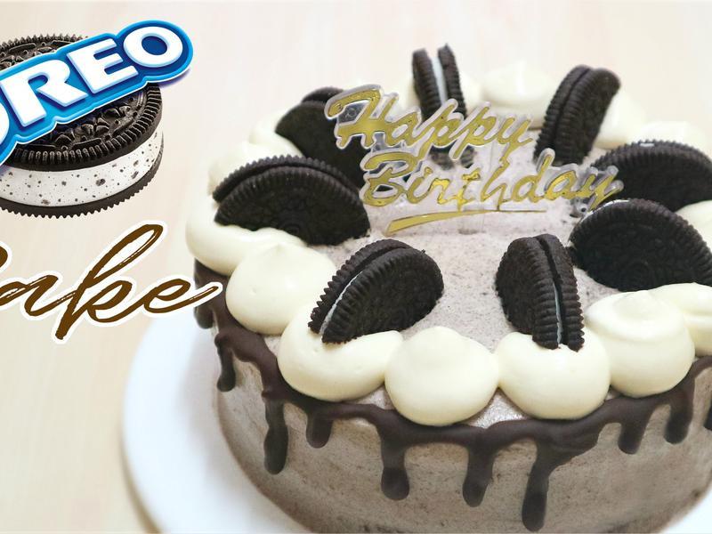 奧利奧朱古力蛋糕。生日蛋糕