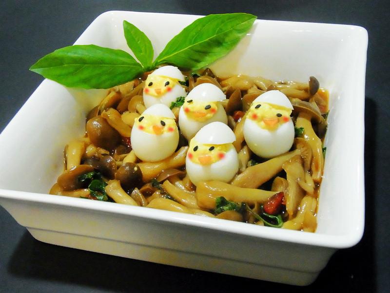 「好菇道菇idea」小雞溫暖的家