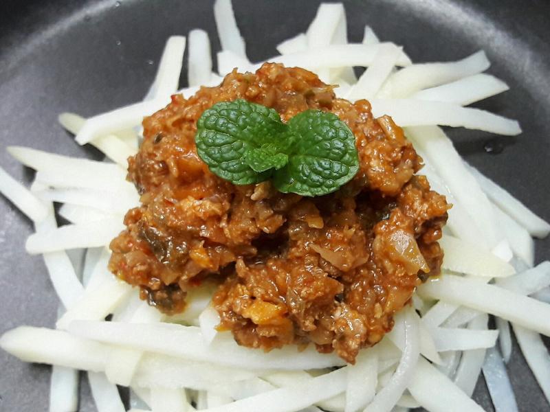 馬鈴薯肉醬麵 減卡路里料理 減重料理