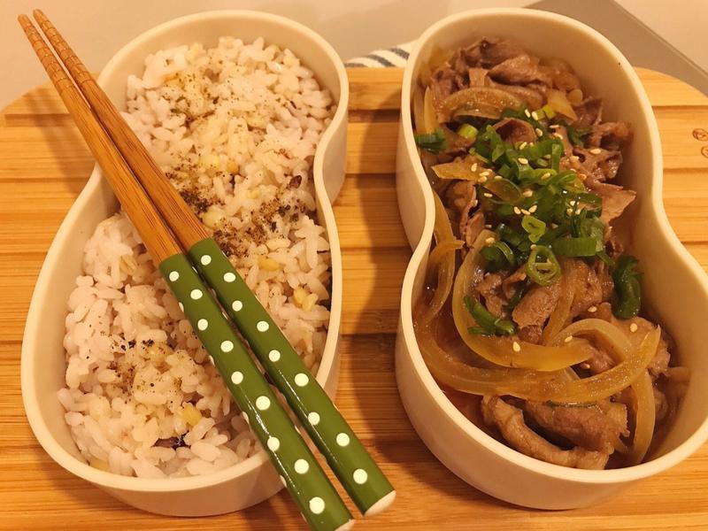 日式牛/豬肉丼飯