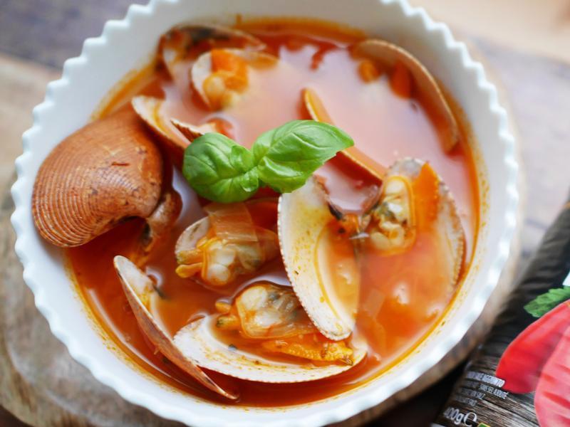 番茄蛤蜊湯【15分鐘情人餐】