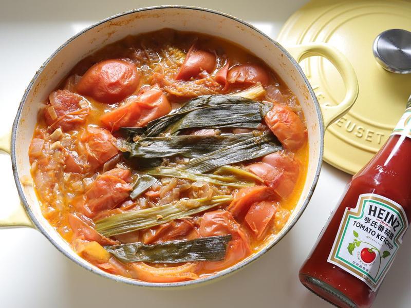 鴻運當頭【番茄燉排骨】- 拌飯第一名