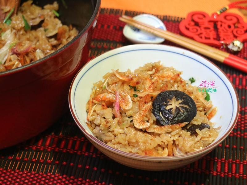 櫻花蝦油飯【年菜料理】