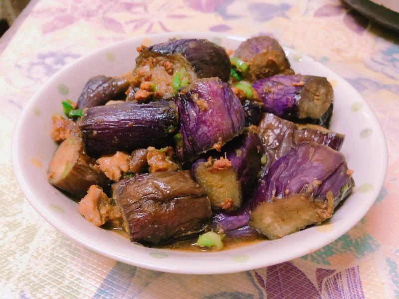 肉醬拌紫茄