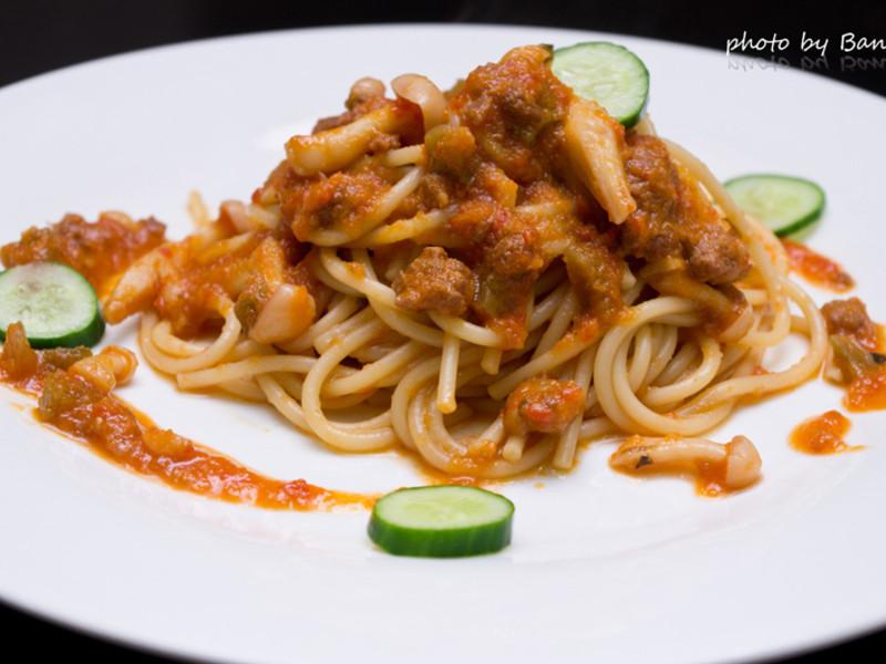 好菇道idea 天然美味的番茄義大利肉醬麵 省時又簡單的懶人做法