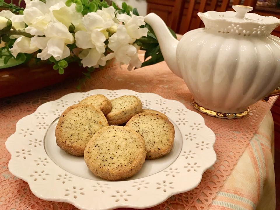 浪漫優雅午茶✤酥鬆英式伯爵紅茶手工餅乾✤