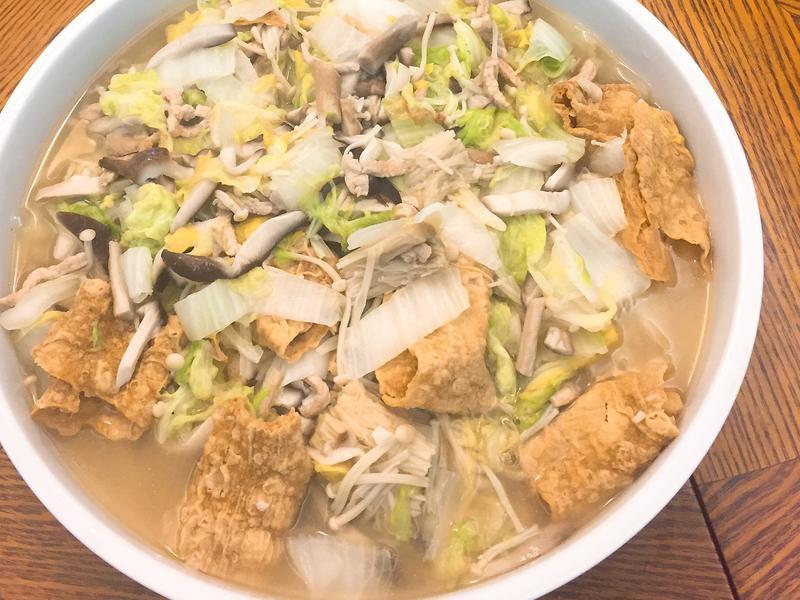 《媽媽私房菜》滷白菜