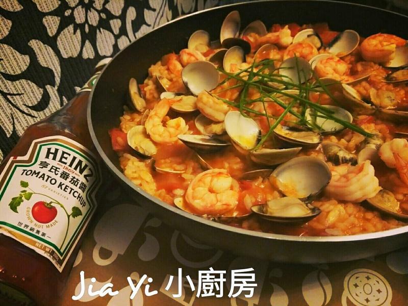 番茄海鮮燉飯