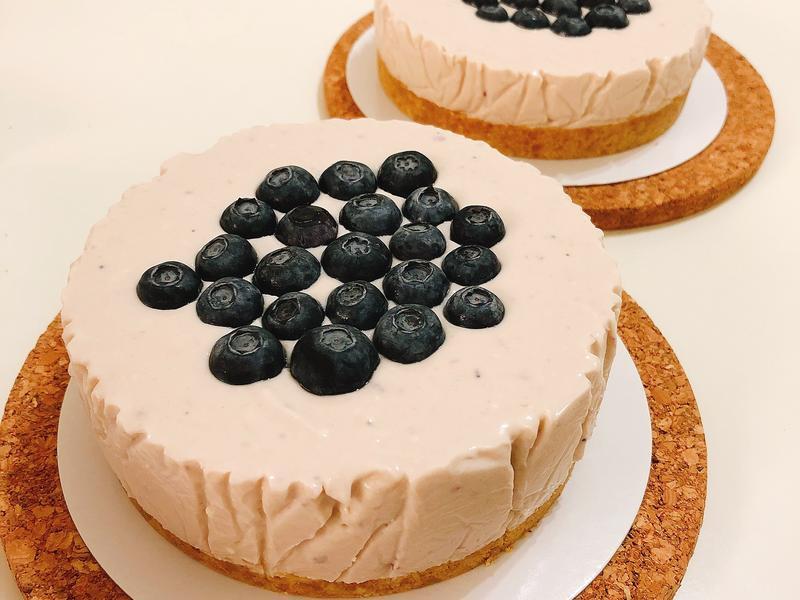 *免烤箱*藍莓乳酪蛋糕