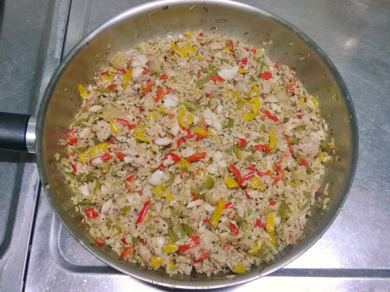 鮮食🐾年菜-西班牙燉飯