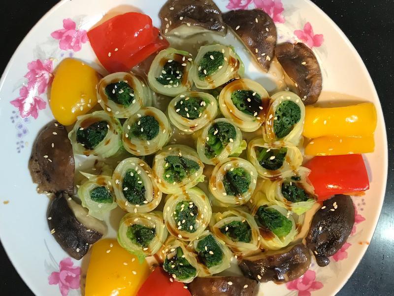 白菜翠玉捲