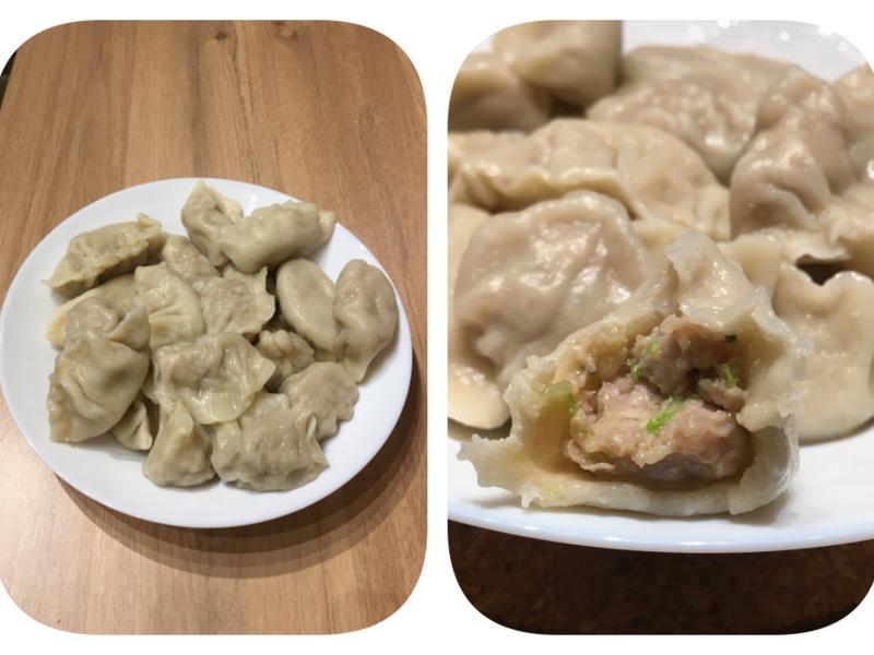豬肉生菜(高麗菜)水餃