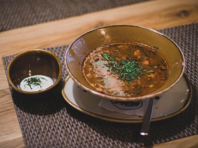俄羅斯菇菇湯