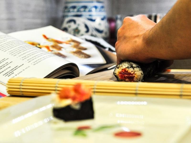 夏威夷手捲 handroll sushi