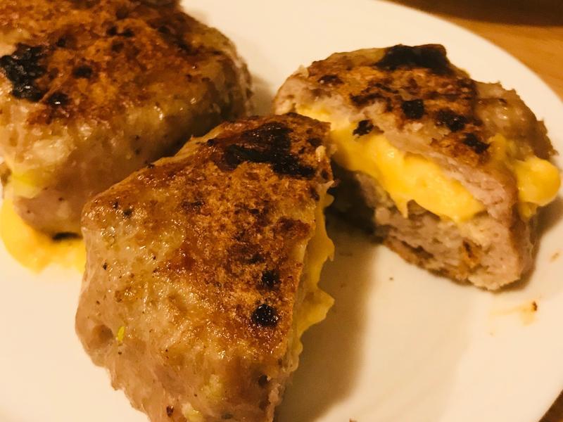 雞胸肉起司漢堡排