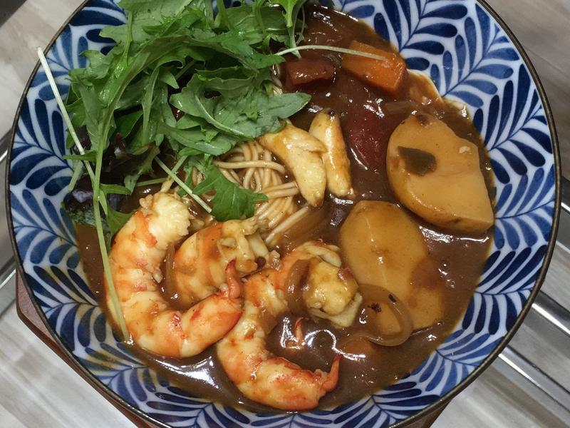 海鮮咖哩麵