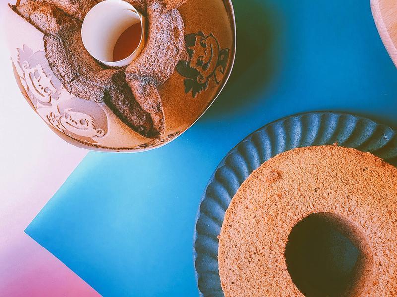 愛柴-巧克力戚風蛋糕