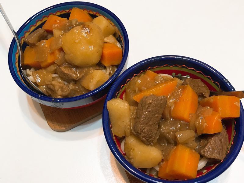 超級軟嫩牛肉咖喱(萬用鍋)