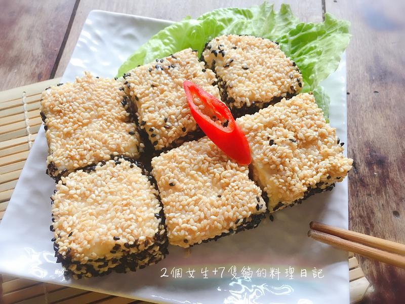 黑白芝麻豆腐