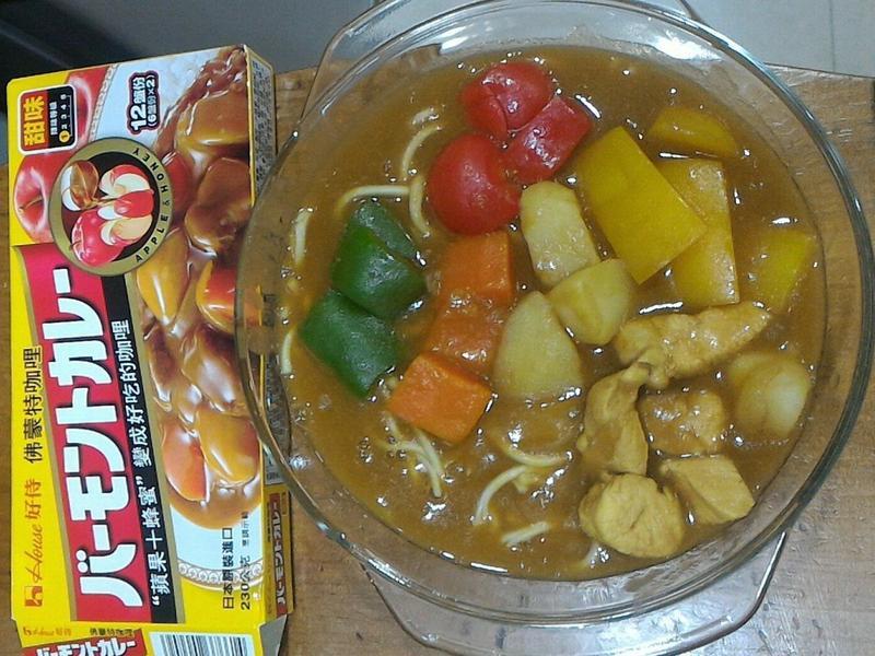 北海道湯咖哩拉麵(佛蒙特咖哩甜味)