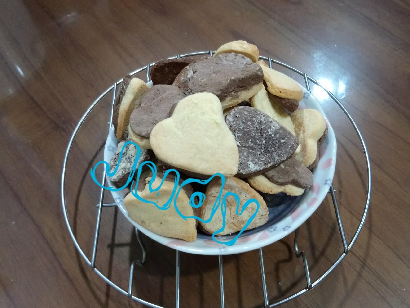 巧克力餅乾[無可可粉]