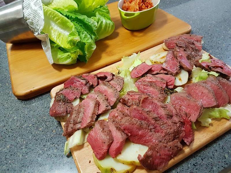 韓式美牛菜包肉