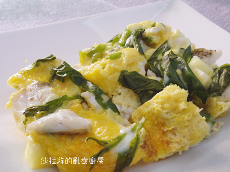 蔬菜魚肉玉子燒【康寶鮮味炒手】