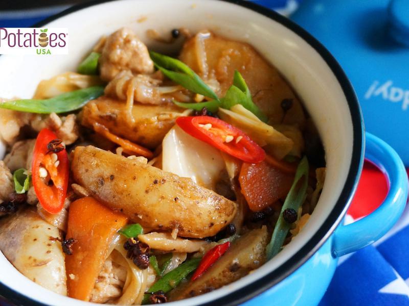 美國馬鈴薯-椒麻薯片什錦鍋