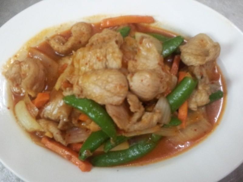 [韓式]泡菜炒松阪豬肉