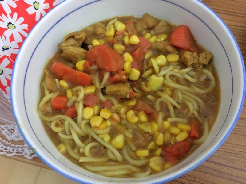 美味又簡單的咖哩麵