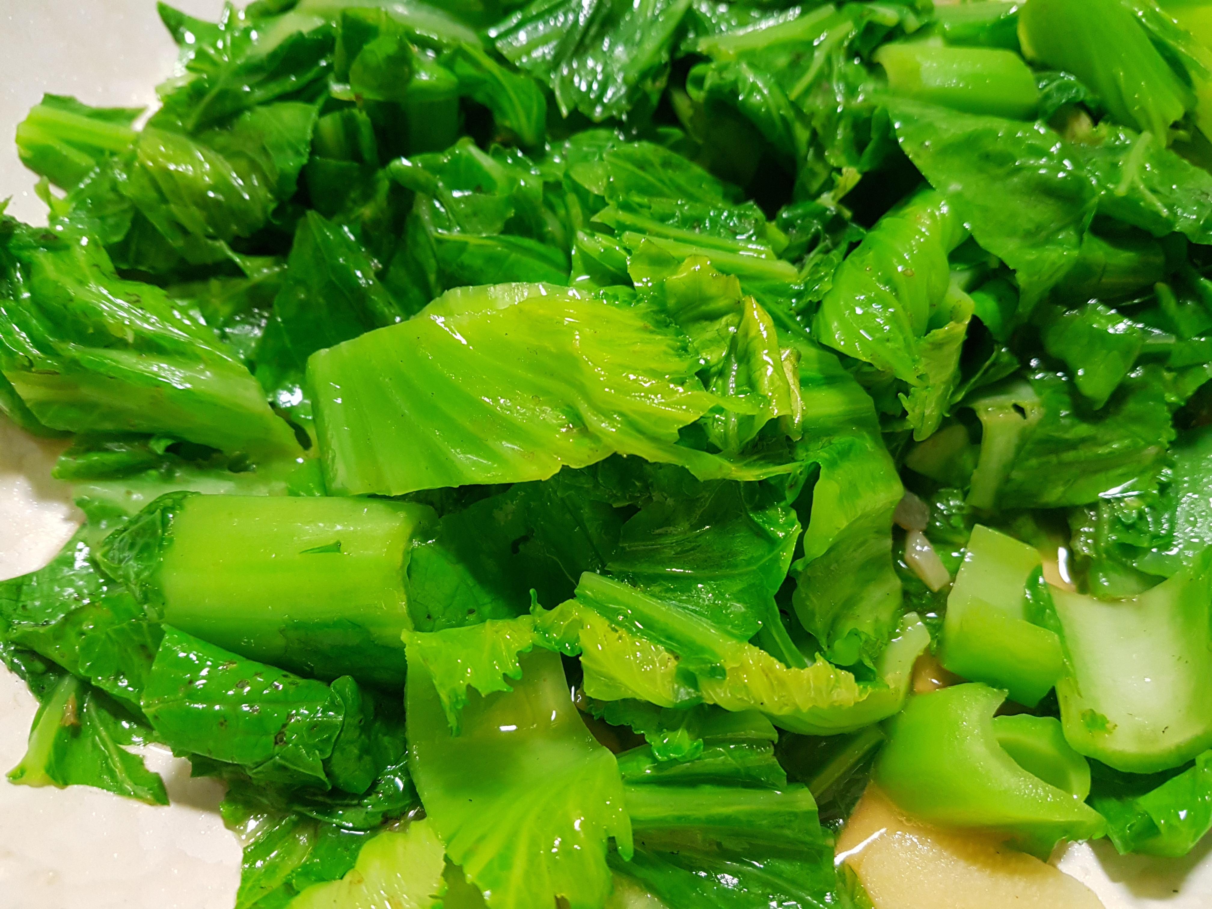 炒芥菜(長年菜)