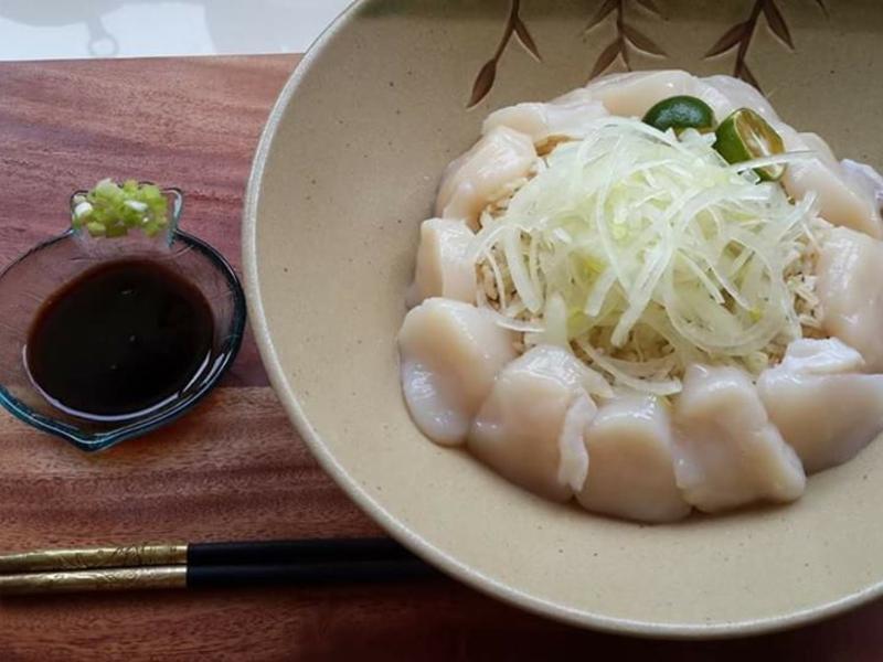 北海道鮮干貝蓋飯