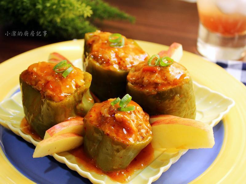 韓式青椒鑲肉
