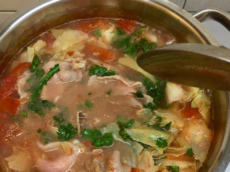 茄汁肉片湯