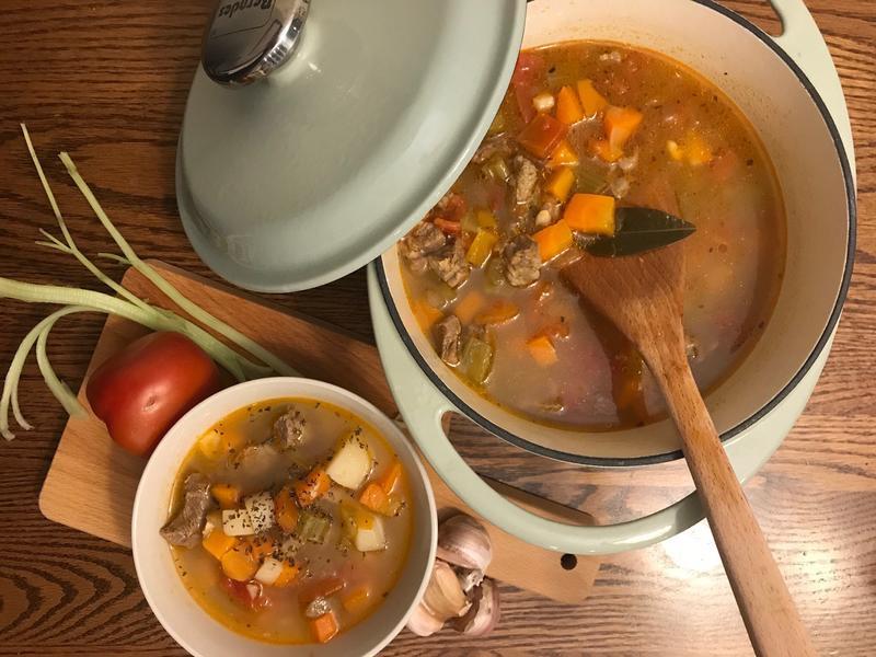義式牛肉蔬菜湯