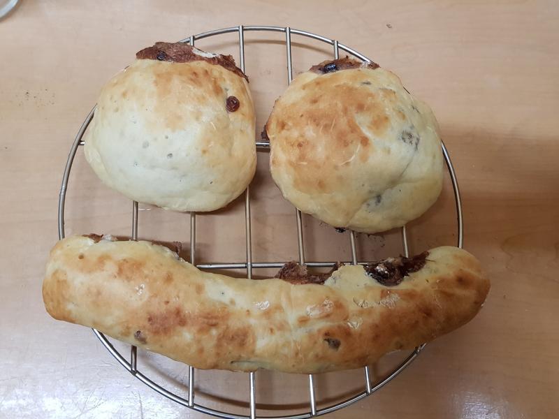 親子手作:紅豆麻吉麵包-年糕版