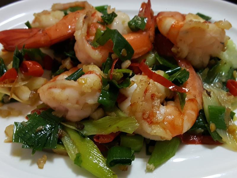 台式蒜味蝦