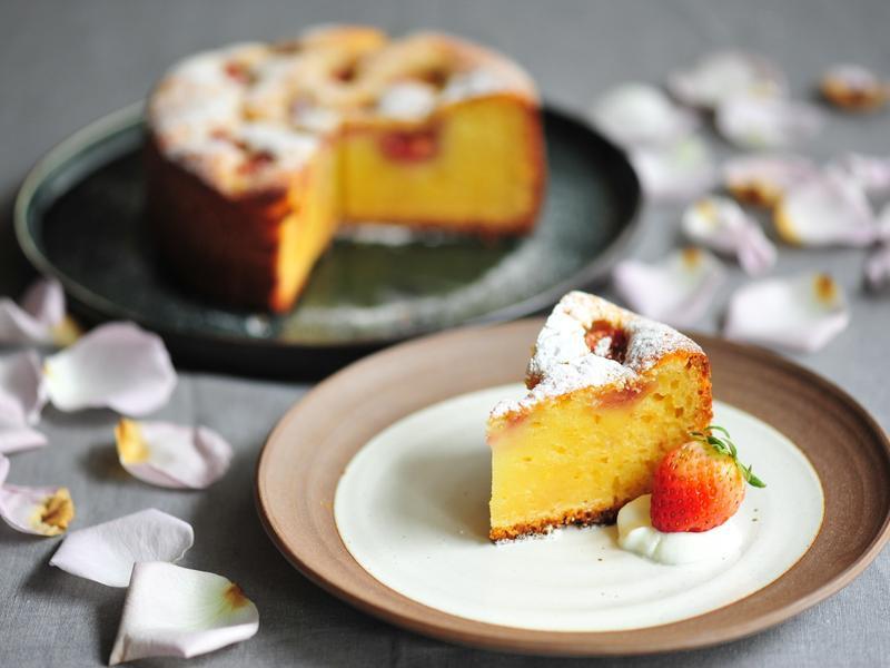 草苺乳酪蛋糕
